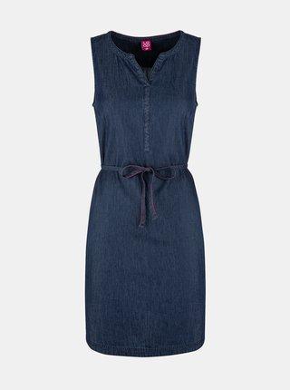 Tmavě modré dámské džínové šaty LOAP Nermin