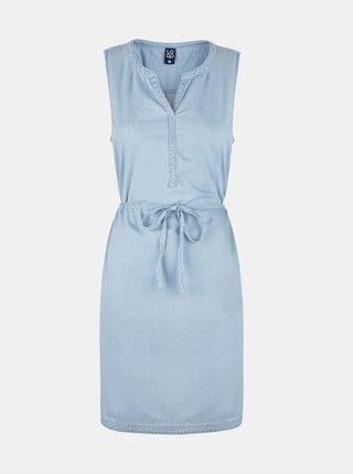 Světle modré dámské džínové šaty LOAP Nermin