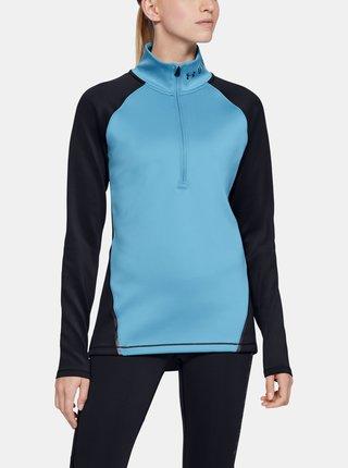 Modré dámské tričko ColdGear Under Armour