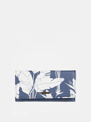 Modrá vzorovaná peňaženka Roxy