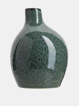 Tmavozelená váza Tranquillo Home Aribert 15cm