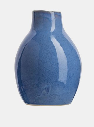 Modrá váza Tranquillo Arnhelm 17 cm