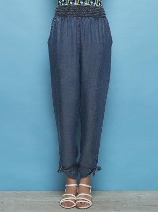 Modré rifľové skrátené nohavice Tranquillo Kimara
