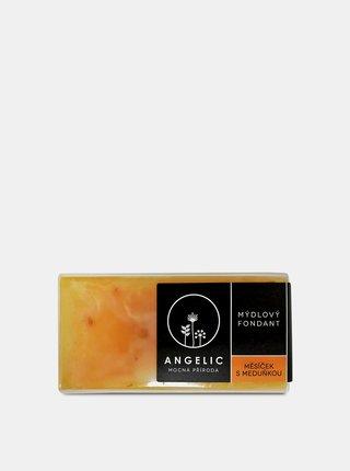 Mýdlo s výtažky z měsíčku a meduňky 200 g Angelic