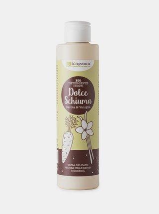 Jemný čisticí sprchový gel s mrkví a vanilkou BIO 200 ml laSaponaria