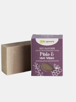 Tuhé olivové mýdlo BIO - Myrta a červené hrozny 100 g laSaponaria