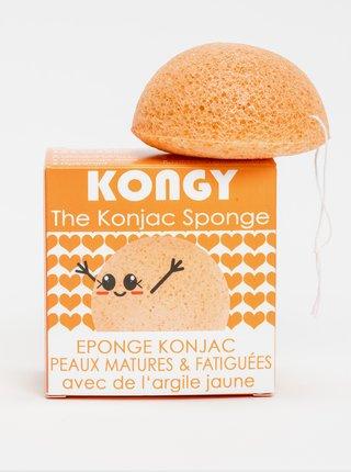 Konjaková houbička - žlutý jíl Kongy