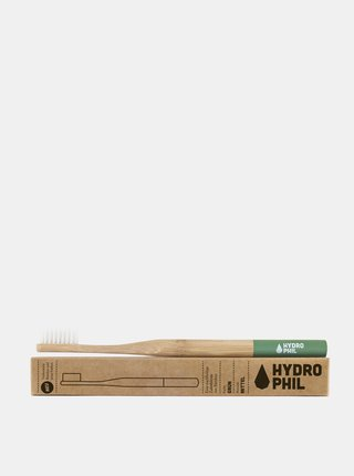 Bambusový kartáček (medium) - zelený Hydrophil