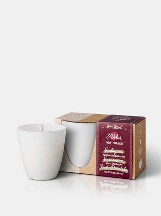 Sada - 1x svíčka + 2x náplň - dřevo a koření The Greatest Candle In The World