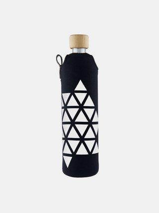 Sklenená fľaša v neoprénovom obale Drinkit Triangl 500 ml