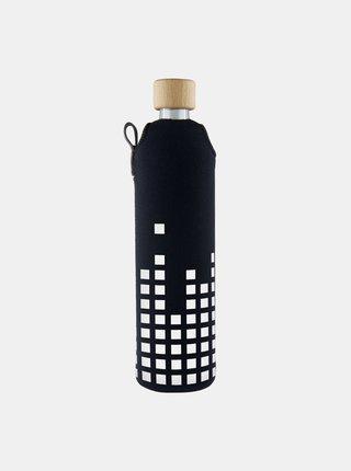 Sklenená fľaša v neoprénovom obale Drinkit Equalizer 500 ml