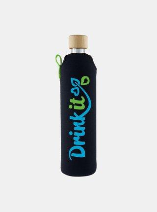 Skleněná láhev v neoprenovém obalu Drinkit Sportit 500 ml