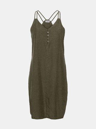 Tmavě zelené šaty Noisy May