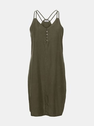 Tmavozelené šaty Noisy May