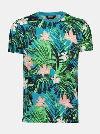 Zelené vzorované tričko Shine Original