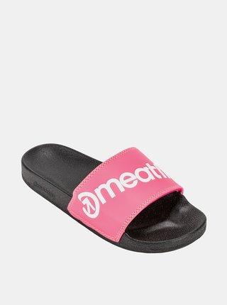Ružové dámske šľapky Meatfly