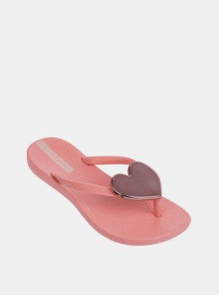 Ružové dievčenské žabky Ipanema