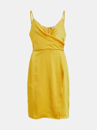 Rochii de vara si de plaja pentru femei VILA - galben