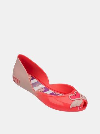 Růžové holčičí baleríny Zaxy