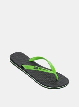 Zelené žabky Ipanema