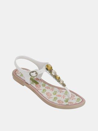 Bílé holčičí sandály Grendha