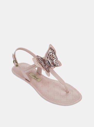 Ružové dámske sandále Grendha