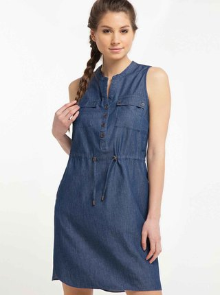 Modré šaty Ragwear Roisin Denim