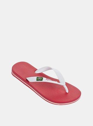 Růžovo-bílé holčičí žabky Ipanema