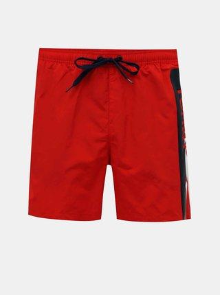 Červené pánske plavky Tommy Hilfiger