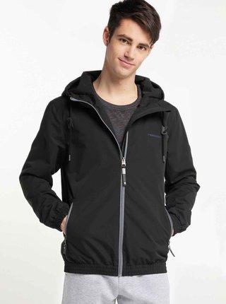 Čierna pánska funkčná ľahká bunda Ragwear Olsen