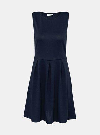 Tmavě modré šaty VILA