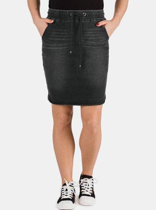Čierna dámska rifľová sukňa SAM 73