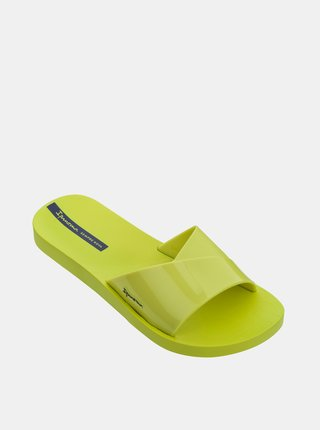 Žluté dámské pantofle Ipanema