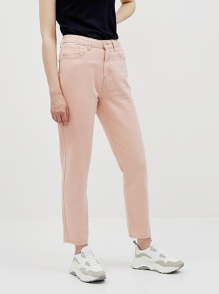 Růžové mom džíny Noisy May Sabel