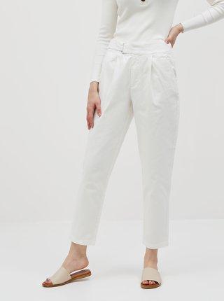 Biele skrátené nohavice Jacqueline de Yong Pacey