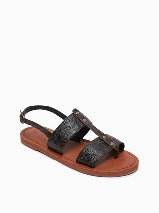 Černé sandály Roxy