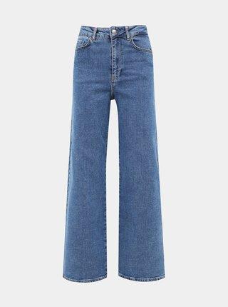 Modré bootcut džíny AWARE by VERO MODA Kathy