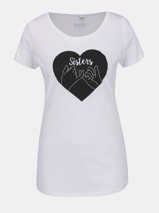 Bílé dámské tričko ZOOT Originál Sisters