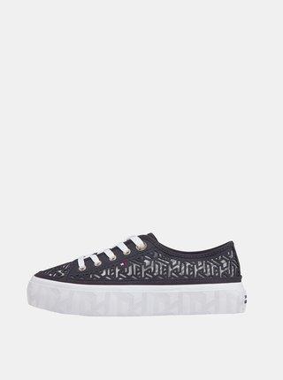 Pantofi sport si tenisi pentru femei Tommy Hilfiger - albastru inchis