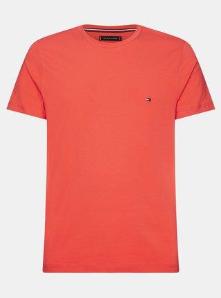 Červené pánske basic tričko Tommy Hilfiger