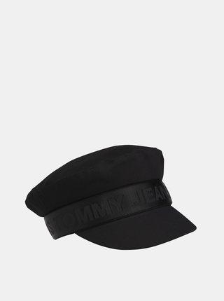 Čierna dámska čiapka Tommy Hilfiger