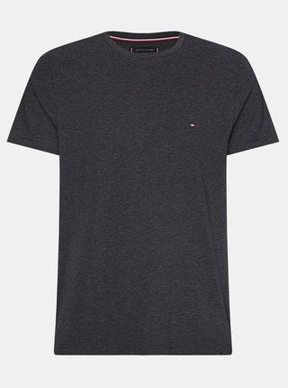 Čierne pánske basic tričko Tommy Hilfiger