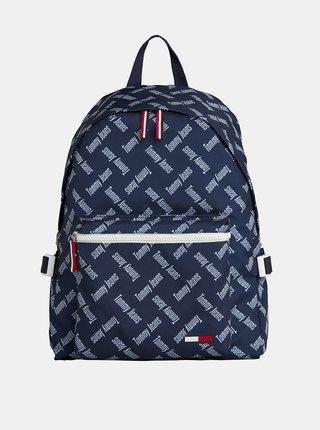 Tmavě modrý vzorovaný batoh Tommy Hilfiger