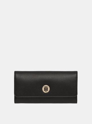 Čierna dámska peňaženka Tommy Hilfiger