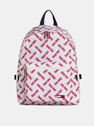Biely vzorovaný batoh Tommy Hilfiger