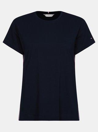Tricouri pentru femei Tommy Hilfiger - albastru inchis
