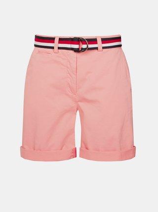 Ružové dámske kraťasy Tommy Hilfiger
