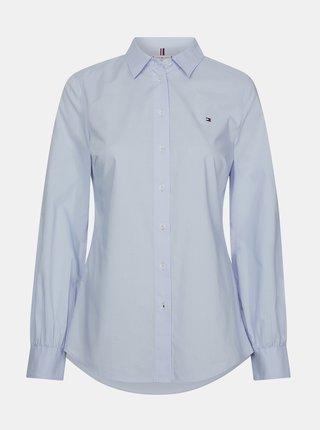 Modrá dámska košeľa Tommy Hilfiger Lacie