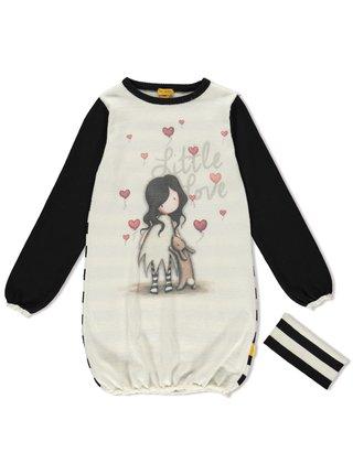 Santoro úpletové dívčí šaty I Love You Little Rabbit