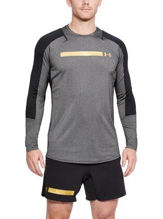 Under Armour šedé pánské sportovní tričko Perpetl Fitted LS